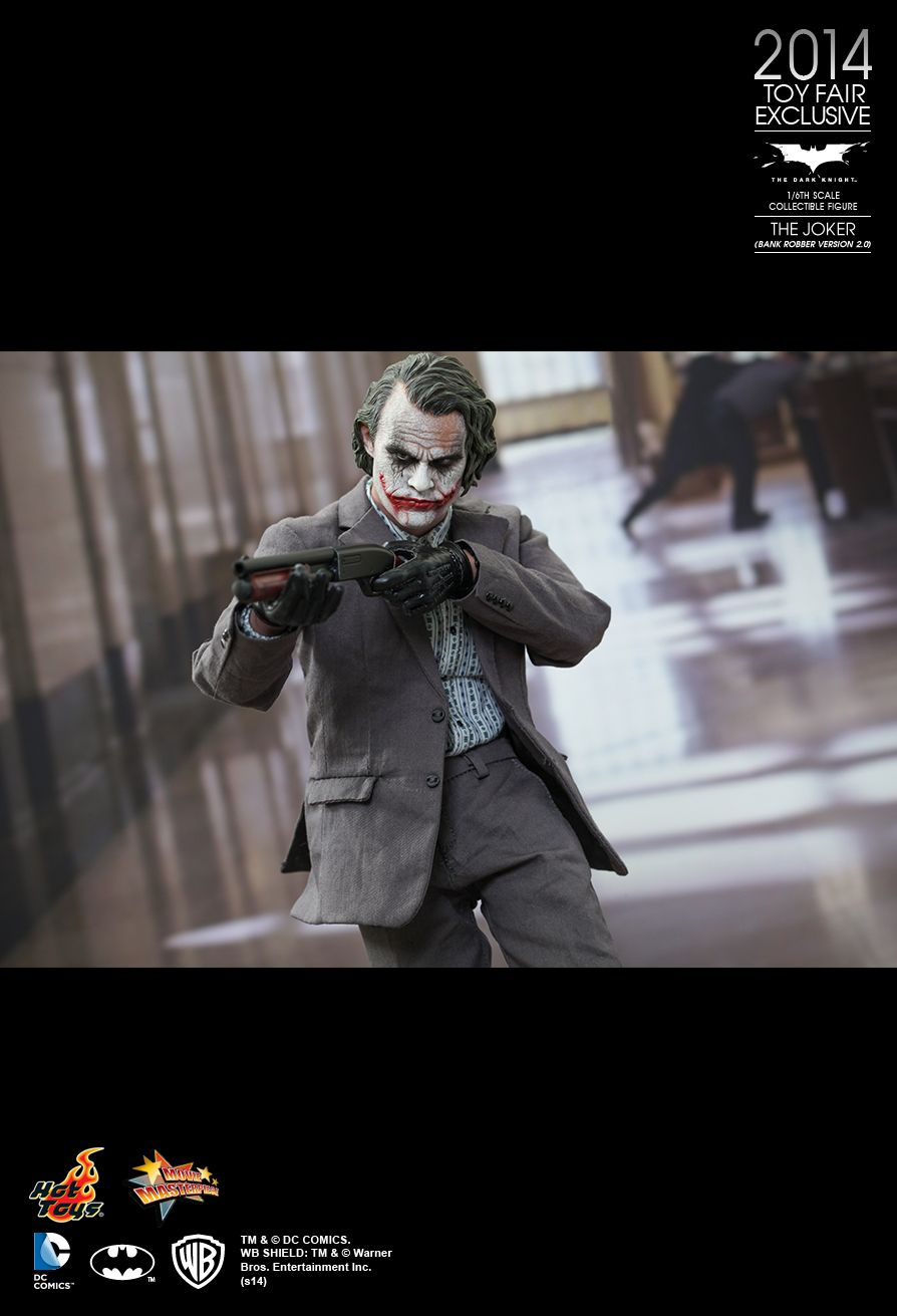 Hot Toys MMS249 THE DARK KNIGHT - THE JOKER (BANK ROBBER VERSION 2.0)