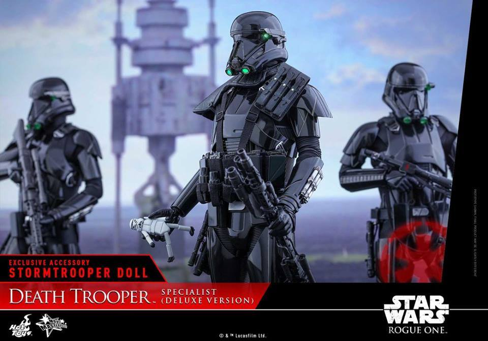 Hot Toys MMS399 ROGUE ONE: A STAR WARS STORY - DEATH TROOPER SPECIALIST (DELUXE VERSION)