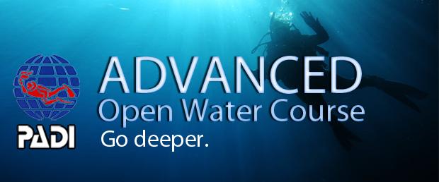 คอร์ส Advance สถาบัน PADI ราคารวมออกภาคทะเล