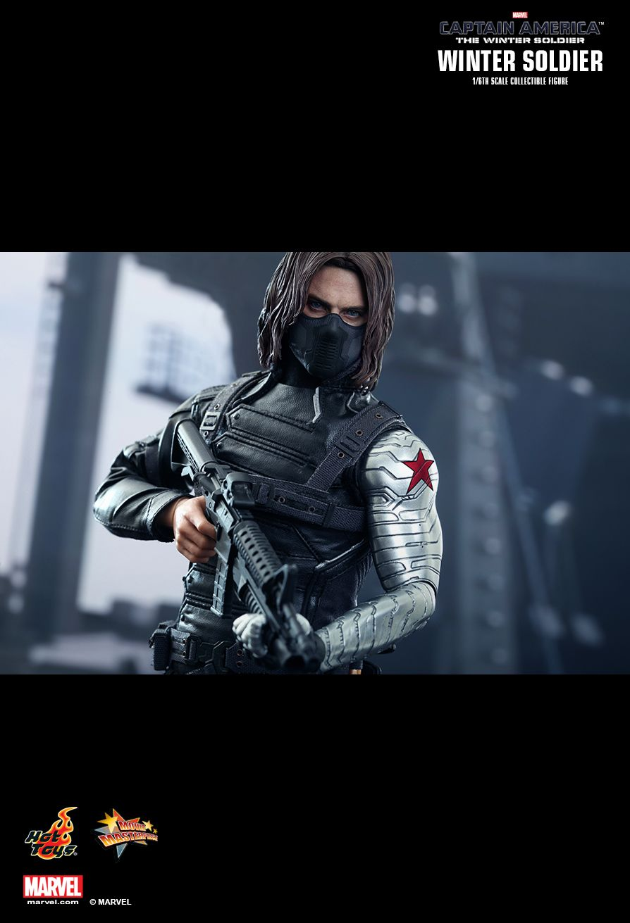 HOT TOYS MMS241 Captain America: The Winter Soldier - The Winter Soldier