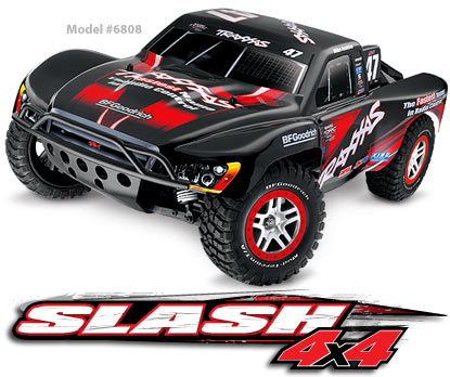Slash VXL Brushless 4x4 2.4GHz RTR #6808
