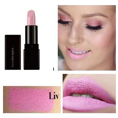 **พร้อมส่ง**ILLAMASQUA Lipstick ขนาดปกติ 4 g. # Liv สีชมพูนมเย็น เนื้อแมตท์ ลิปสติกอีลลามาสก้า สินค้าแบรนด์ดังจากเกาะอังกฤษ ที่สร้างความสดใสและสีสันสำหรับเมคอัพของคุณ เนื้อแน่น สีชัด ติดทนมากค่ะ ,