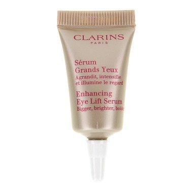 พร้อมส่ง*CLARINS Enhancing Eye Lift Serum ขนาดทดลอง 3ml. อายเซรั่มสูตรใหม่ สุดยอดเซรั่มที่อุดมด้วยสารสกัดจากพืชธรรมชาติ ที่ตรงเข้าดูแลผิวรอบดวงตาให้ดูยกกระชับ สดใส โดดเด่นยิ่งขึ้น ด้วยสูตรพิเศษเฉพาะจากคลาแรงส์ เหมาะที่สุดสำหรับโครงสร้างตามธรรมชาติผิวรอบด