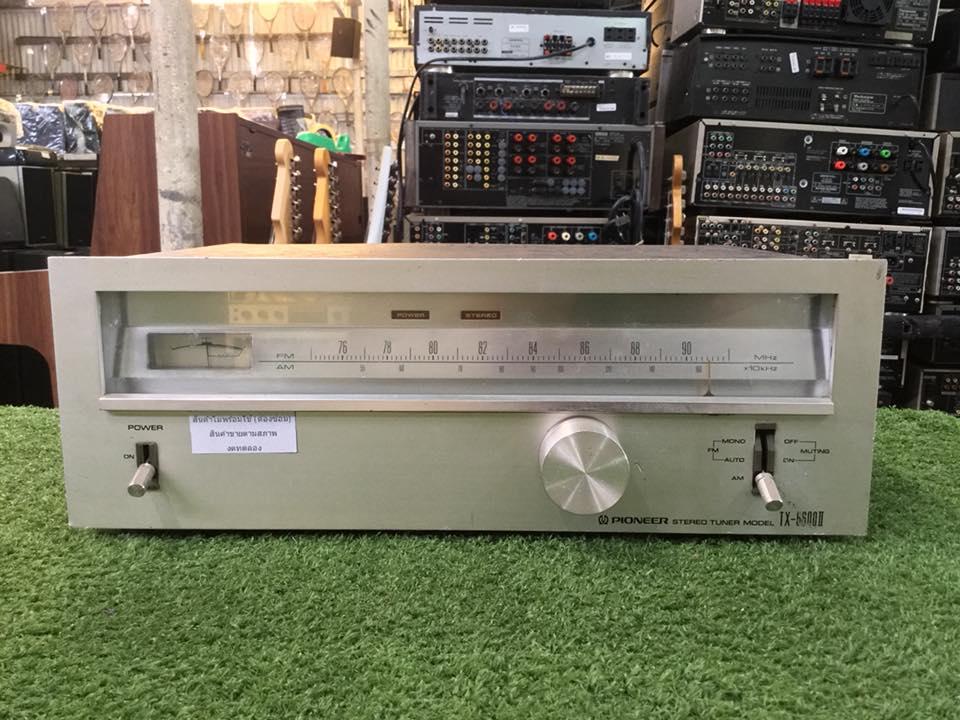 วิทยุ FM AM PIONEER TX-6600II สินค้าไม่พร้อมใช้งาน (ต้องซ่อม)