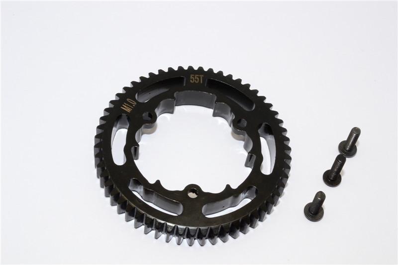 STEEL SPUR GEAR (55T) - TXM055TS-BK