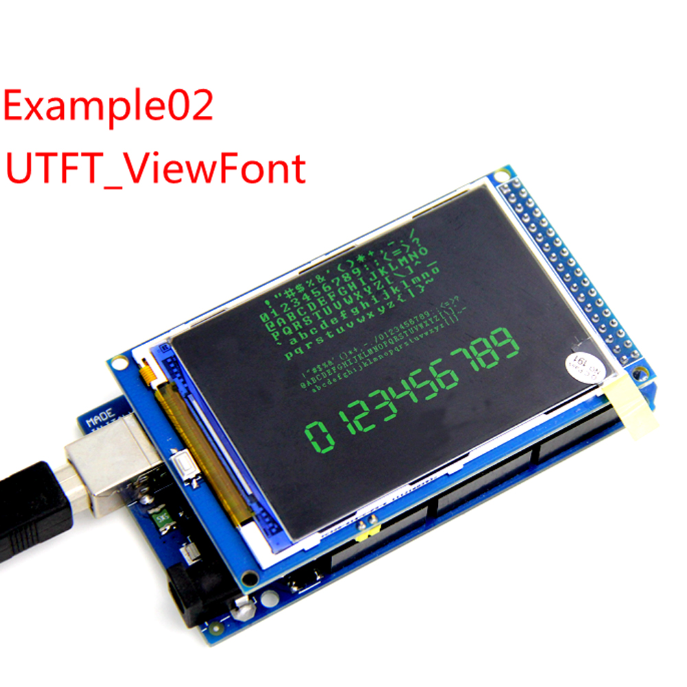3.5-inch TFT color display module 320X480 high definition LCD screen shield for UNO Mega2560