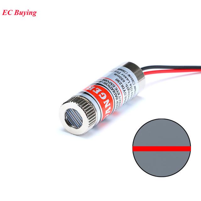 Line Laser 650nm 5mW เลเซอร์สีแดง 5mW แบบเส้นตรง