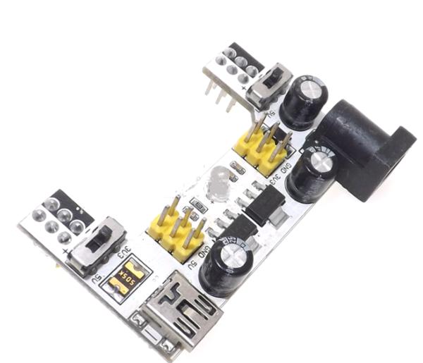 Breadboard Power Module พร้อมสวิตช์