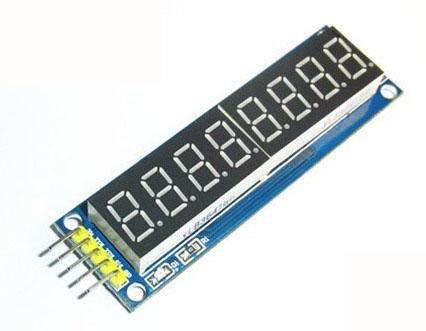 Eight digital tube module LED display Eight serial 595 drivers