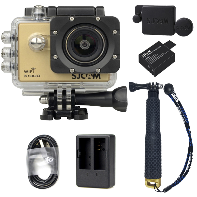 X1000+Extra Battery +Dual Charger + TMC Selfie (Gold Color)