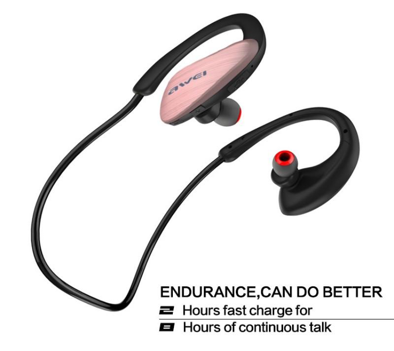 หูฟัง บลูทูธ AWEI A885BL หูฟัง บลูทูธ ชนิดใช้แขวนคอ สามารถใช้เป็นหูฟังแบบ Small Talk >> ใช้ร่วมกับโทรศัพท์มือถือ ต่างๆ โดยสามารถควบคุมการทำงาน >> ได้จาก มือถือ iPhone/ iPad/ iPod ได้อีกด้วย >> สามารถกันน้ำได้ เหมาะสำหรับใช้ในการขณะออกกำลังกาย หรือเล่นกีฬา >> น้ำหนักเบา กระชับ ไม่ต้องเป็นห่วงเรื่องร่วงหลุดขณะออกกำลังกาย