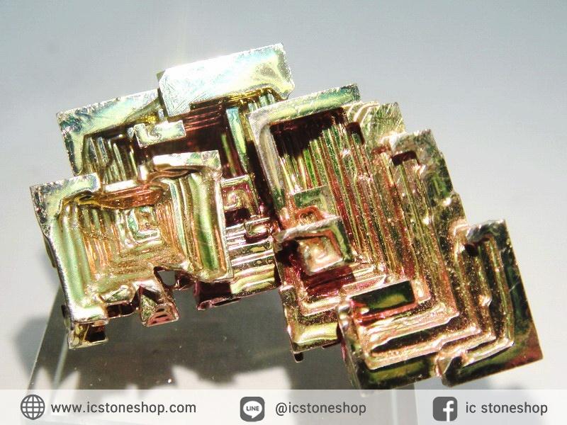 บิสมัท Bismuth รูปแบบแร่ที่มนุษย์ทำขึ้น(20.8g)