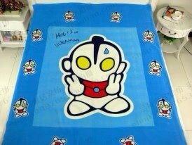 ผ้าห่มสำลี เนื้อนุ่ม ลายการ์ตูนอุนตร้าแมน Ultra Man ขนาด 5* 6 ฟุต (แพ็ค 1 ผืน)