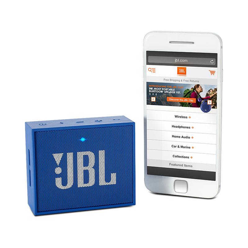 ลำโพงพกพา JBL GO Bluetooth Speaker (ฺBLUE)