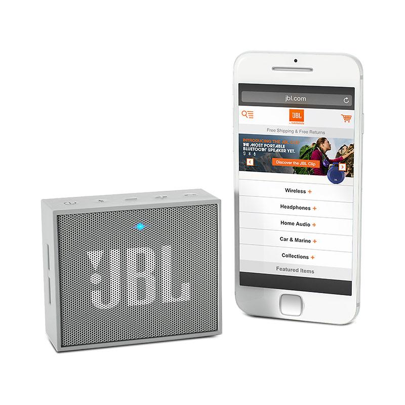 ลำโพงพกพา JBL GO Bluetooth Speaker (ฺGRAY)