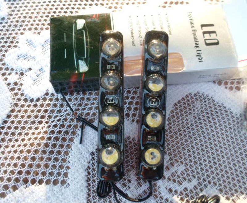 ไฟเดย์ไลย์ Black Edition LED 4 หลอด