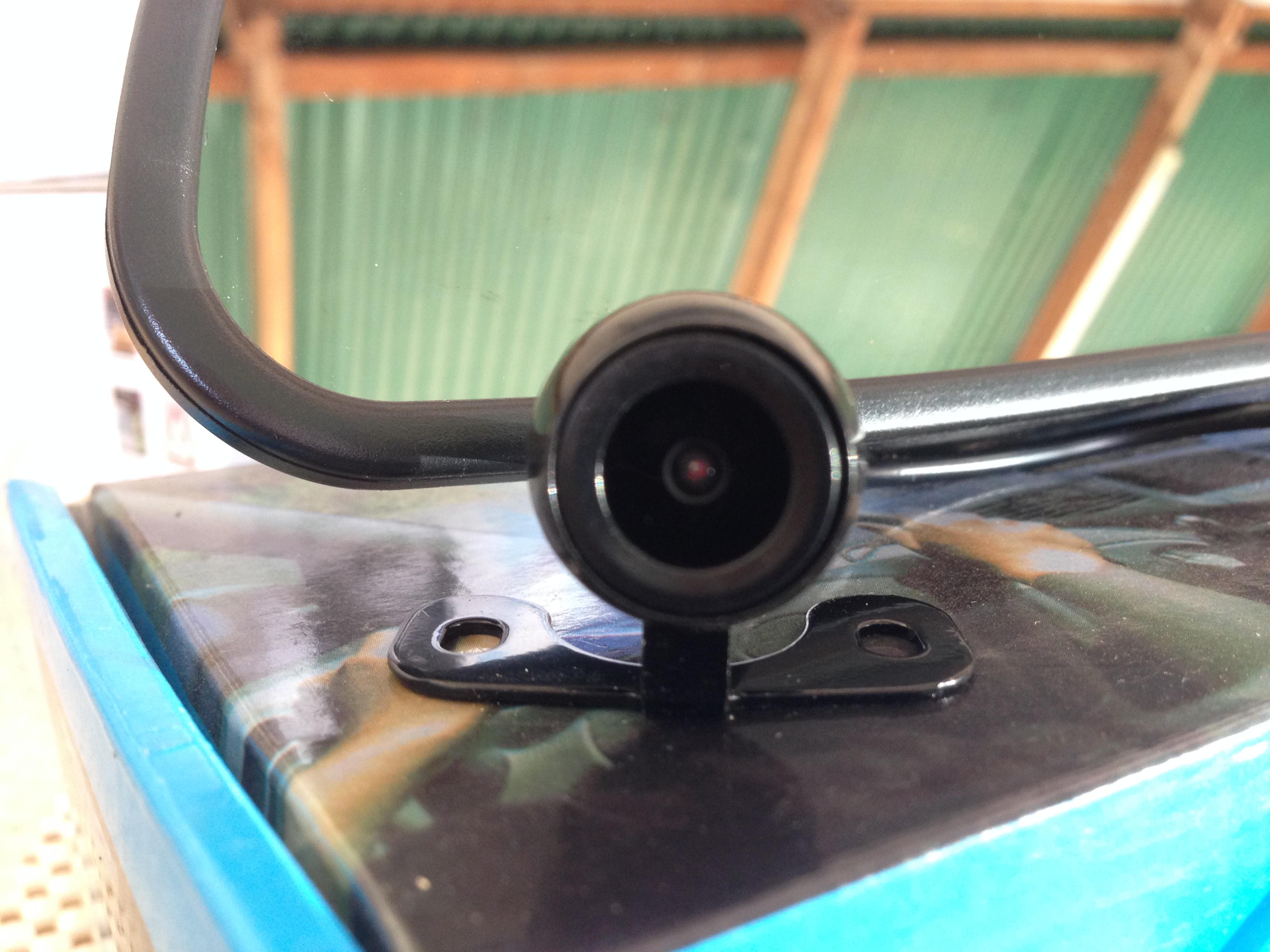 กล้องมองหลังอินฟาเรดแบบปีกผีเสื้อ