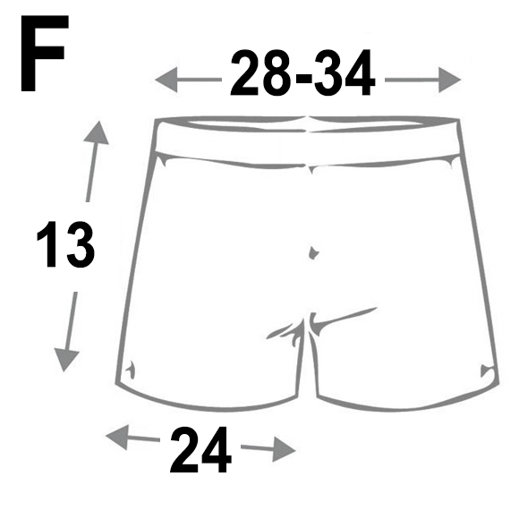 free size boxer for men รูปกางเกงบ๊อกเซอร์ ขนาดกางเกงบ๊อกเซอร์