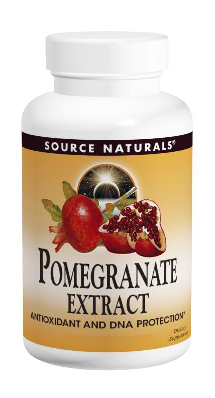 Source Naturals, Pomegranate Extract 500 mg, 240 Tablets