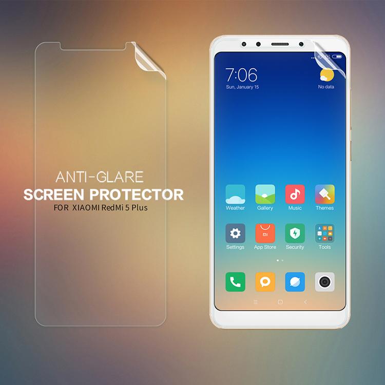 ฟิล์มกันรอยแบบด้าน Nillkin Matte สำหรับ Xiaomi Redmi 5 Plus