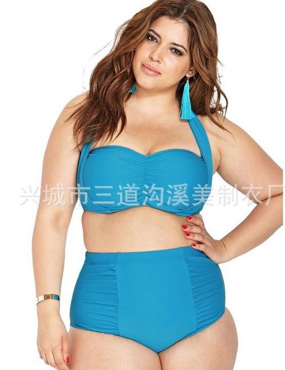 ชุดว่ายน้ำคนอ้วนพร้อมส่ง :ชุดว่ายน้ำคนอ้วนแฟชั่นทูพีชสีฟ้า แต่งสายผูกโบว์ที่คอ สีสดใส sexyมากๆจ้า:รอบอก34-42นิ้ว เอว30-38นิ้ว สะโพก36-44นิ้วจ้า