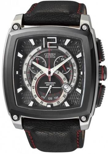 นาฬิกาข้อมือผู้ชาย Citizen Eco-Drive รุ่น AT0730-01E, Promaster Chrono-3D Sapphire Japan