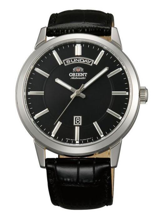 นาฬิกาผู้ชาย Orient รุ่น FEV0U003B, Classic Automatic Black Dial