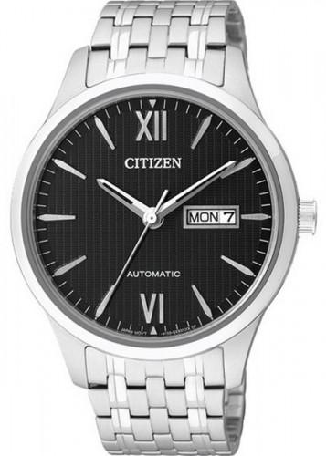 นาฬิกาข้อมือผู้ชาย Citizen รุ่น NP4070-53E, Luxury Automatic Sapphire Japan 50m