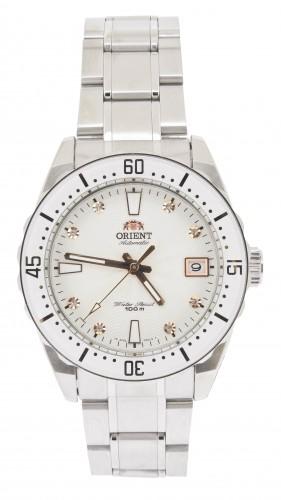 นาฬิกาผู้หญิง Orient รุ่น SAC0A002W0, Automatic Crystals 100m Elegant Watch