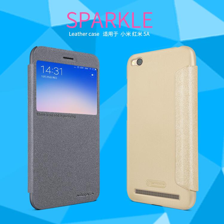 เคส Xiaomi Redmi 5A Nillkin Sparkle Leather Case