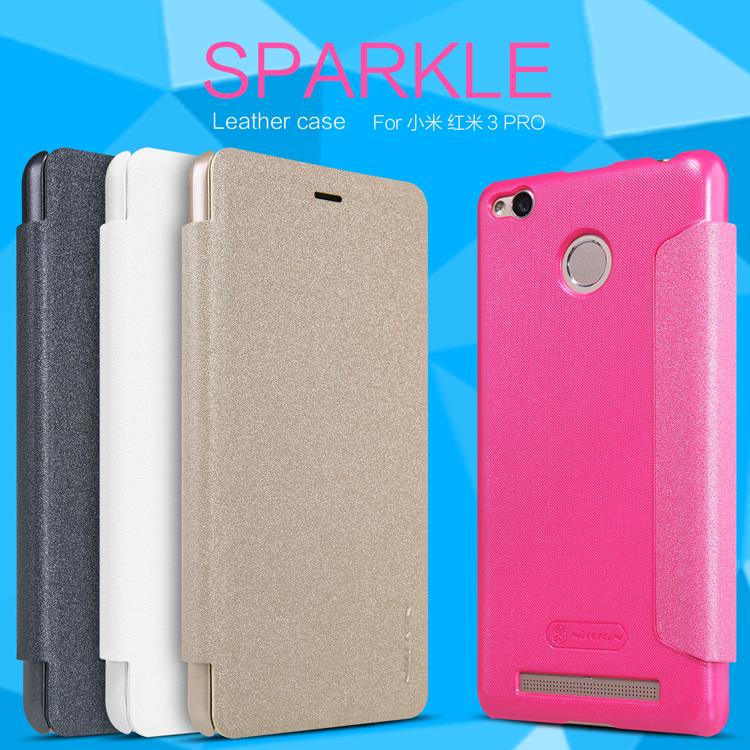 เคส Xiaomi Redmi 3s/3 Pro Nillkin Sparkle Leather Case