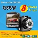 กล้องติดรถยนต์ G55 Novatek 96650 (WDR IR) 170 Wide Angle 1080P