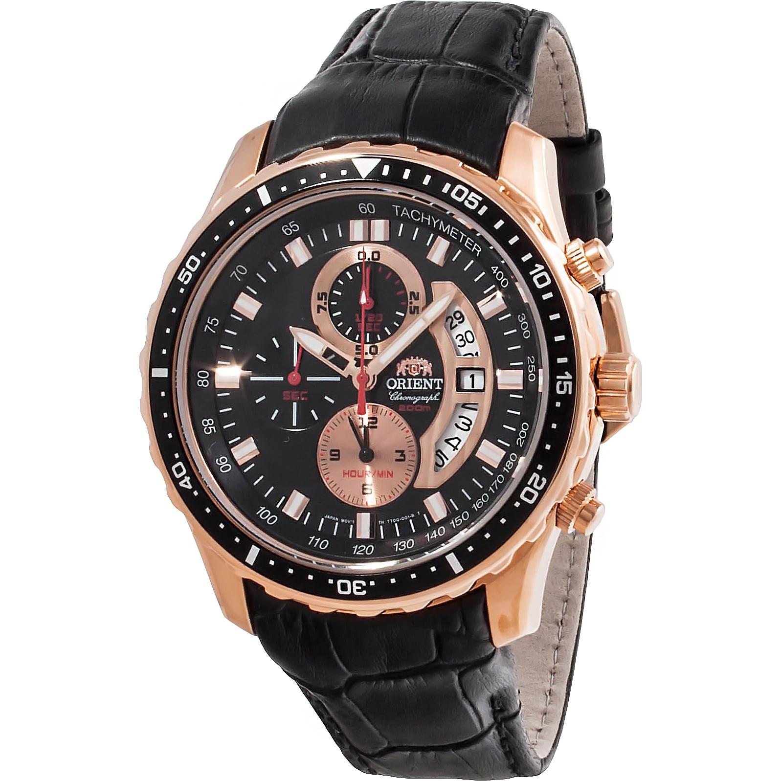 นาฬิกาผู้ชาย Orient รุ่น FTT0Q005B0, Quartz Chronograph