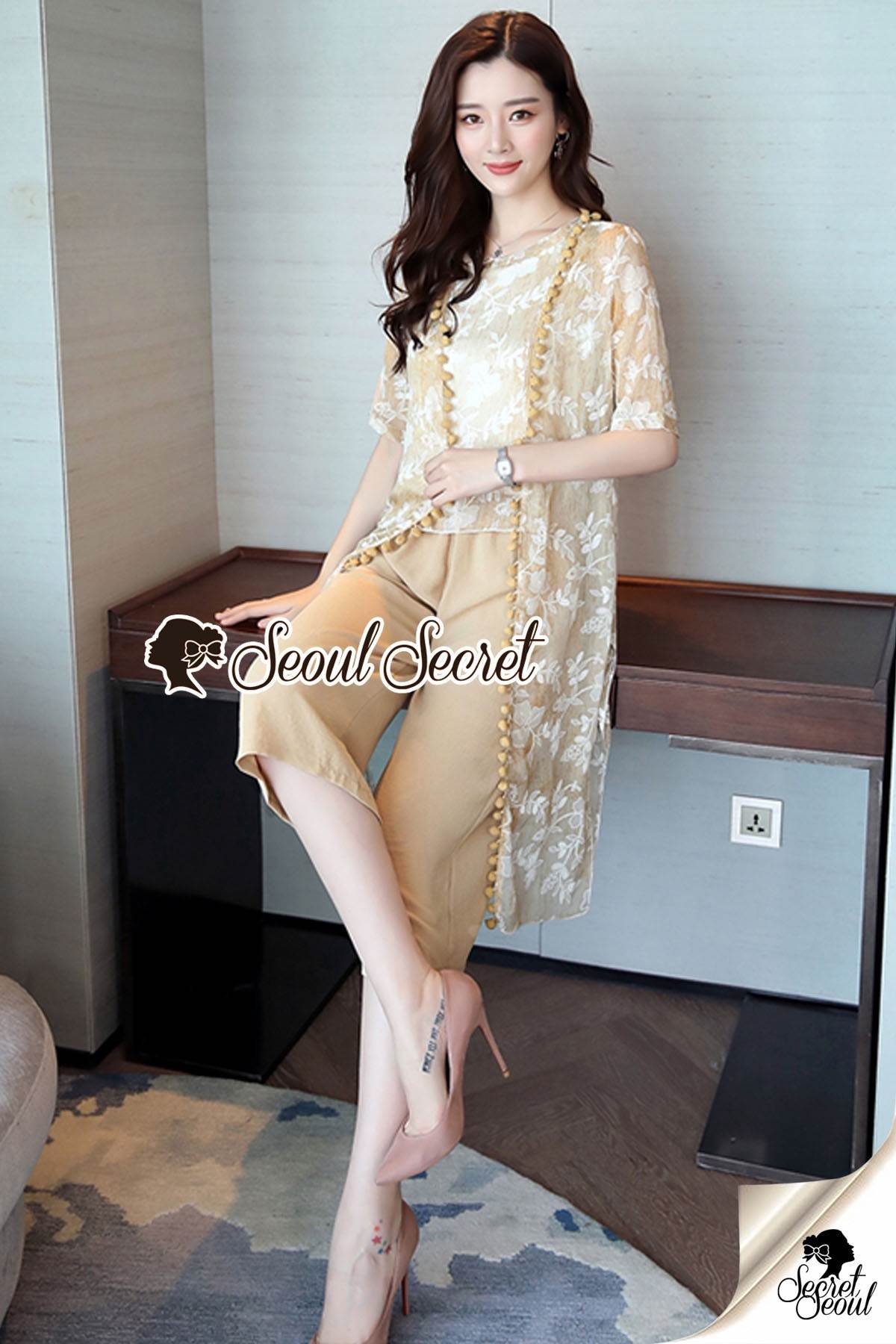 Seoul Secret Say's... Flarohbrica Blossom Creamy Chic Set