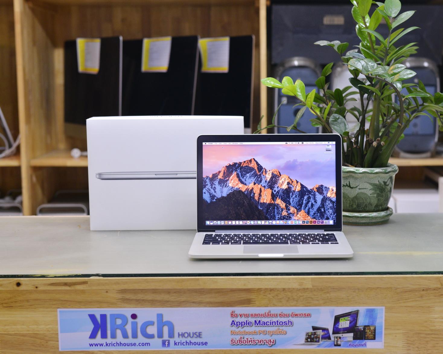 CTO - MacBook Pro (Retina, 13-inch, Mid 2014) Core i5 2.8GHz RAM 16GB SSD 256GB - Fullbox