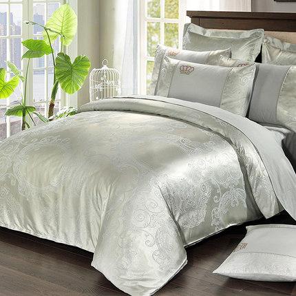 ชุดผ้าปูที่นอนผ้าซาติน SD3214 ขนาด 6 ฟุต