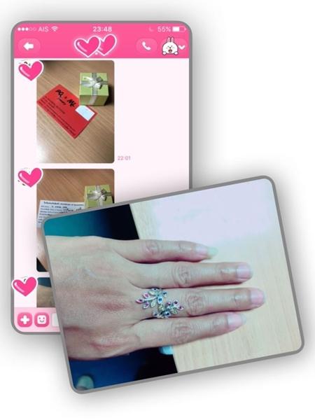 แหวนแฟนซีแซฟไฟร์ แหวนพลอยแท้