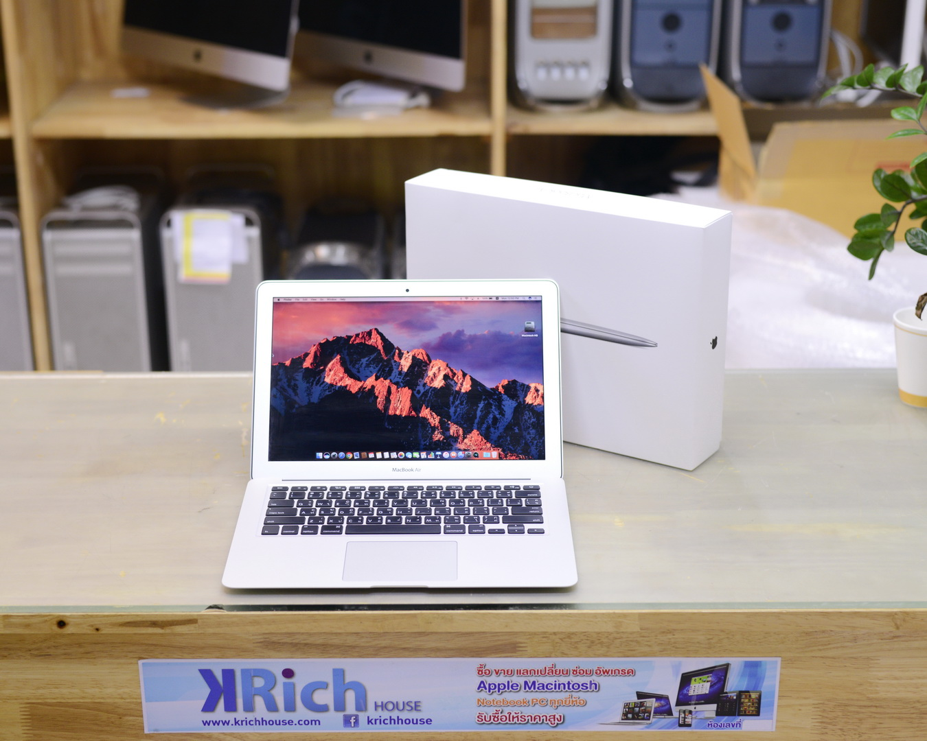 MacBook Air (13-inch, Early 2015) Core i5 1.6GHz RAM 4GB SSD 128GB - FullBox
