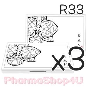 (ซื้อ3 ราคาพิเศษ) (เบอร์ 33) Ran Powder แป้ง Ran แป้งผสมรองพื้นคุณภาพสูง+ SPF30+ By น้องฉัตร