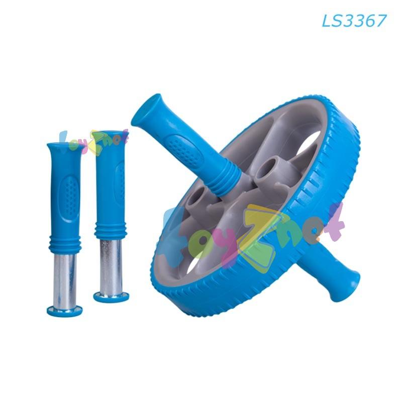Liveup วงล้อออกกำลังกาย (สลับช่องใส่ด้ามจับได้) รุ่น LS3367
