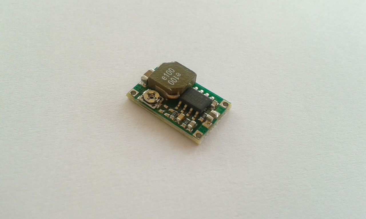 DC Buck Converter Step Down Module 4.75V-23V to 1V-17V 3A Max