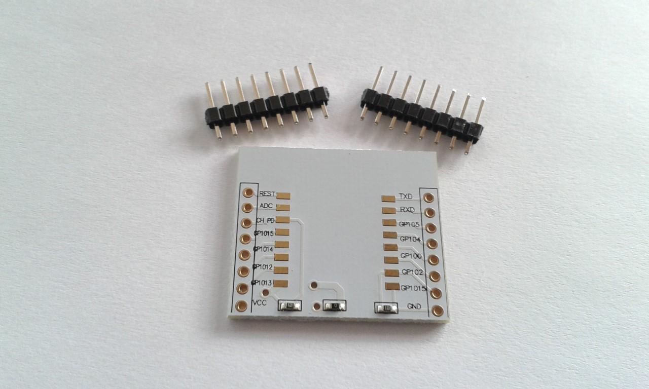 ESP8266 Adapter to ESP-07 08 12 12E 12F 14