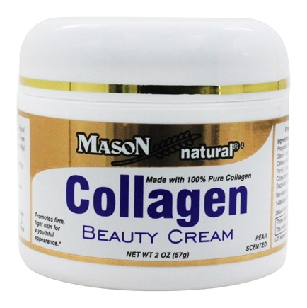 Mason Natural Collagen Beauty Cream 57g. ของแท้ ครีมคอลลาเจนบริสุทธิ์100% นำเข้าจาก USA ส่งฟรี EMS