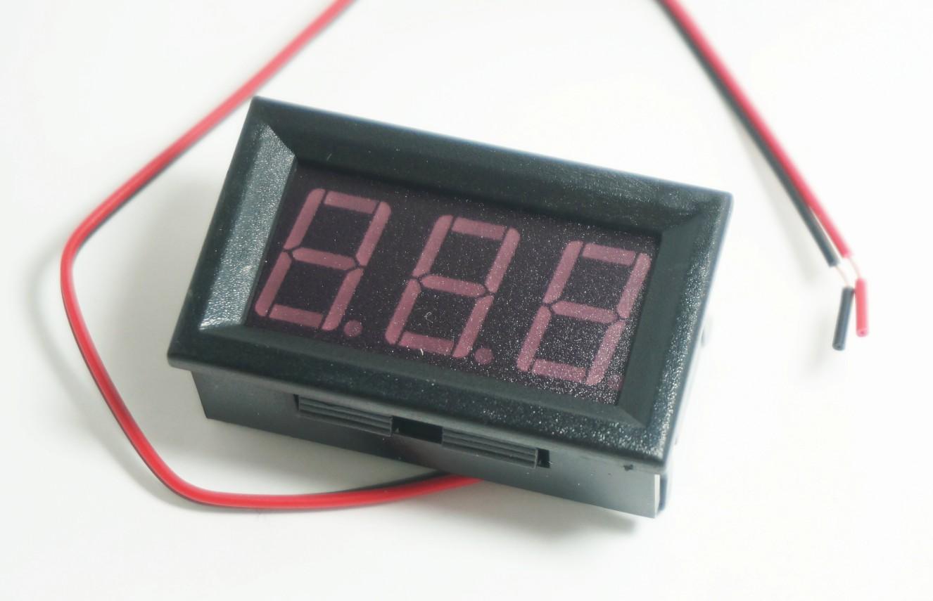 Digital voltmeter meter 4.5 - 30V