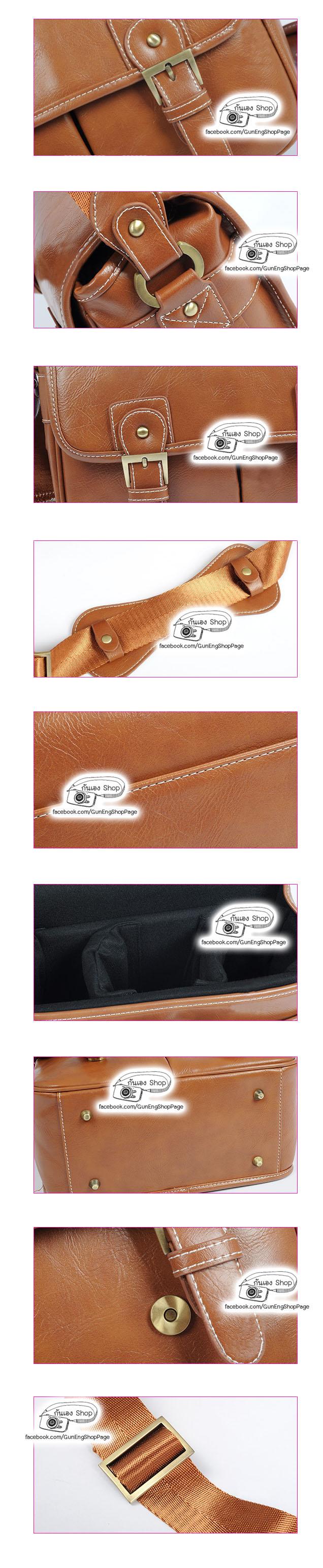 กระเป๋ากล้องหนัง Smart Leather Bag (M)
