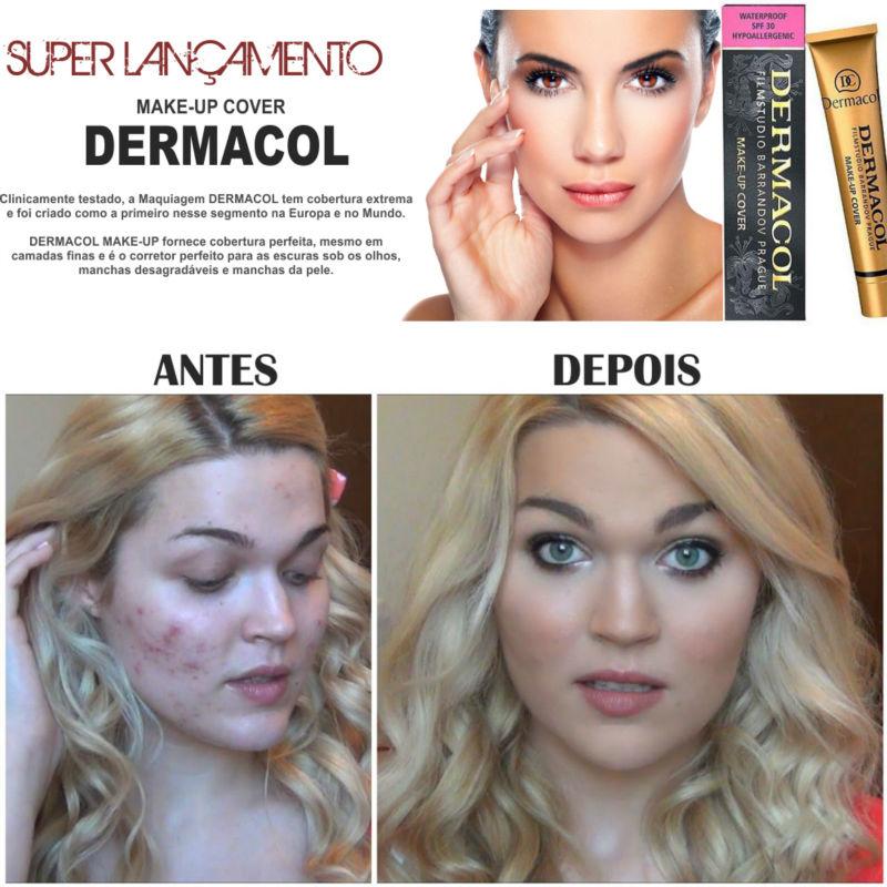 ผลการค้นหารูปภาพสำหรับ Dermacol Make-up Cover 30g.