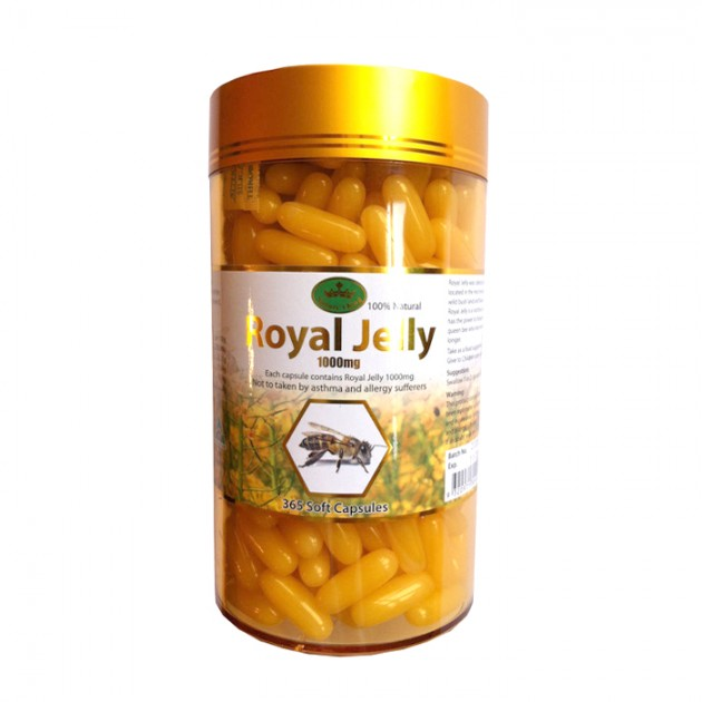 Royal Jelly Nature King 2% 1000mg 365 Capsules