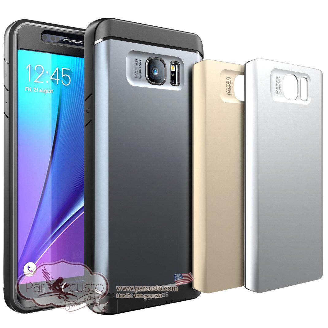 เคสกันน้ำ (สาด) Samsung Galaxy Note 5 [Water Resistant] จาก SUPASE [Pre-order USA]