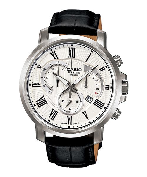 นาฬิกา คาสิโอ Casio BESIDE CHRONOGRAPH รุ่น BEM-506BL-7AV