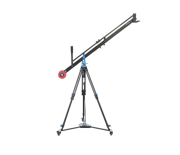 FILMCITY Liten Package Supporting Cameras weighing upto 5kg / 11.02lbs (4ft Studio Jib, Stand And D-21 Floor Dolly) (FC-LTN-4)